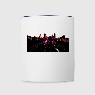 Atlanta Skyline - Contrast Coffee Mug