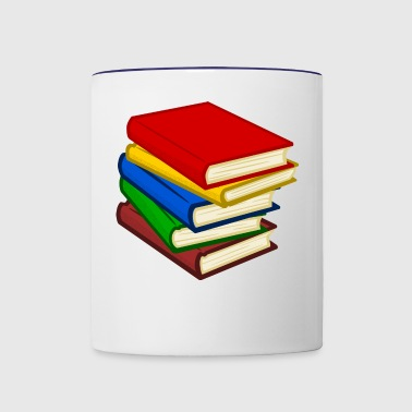 books - Contrast Coffee Mug
