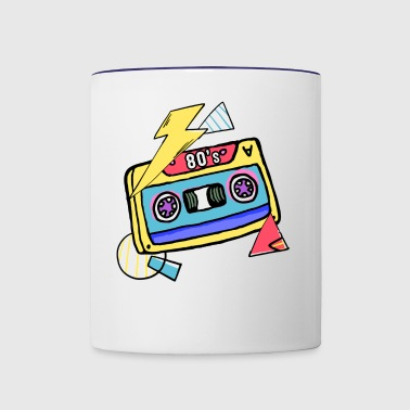 80s - Contrast Coffee Mug