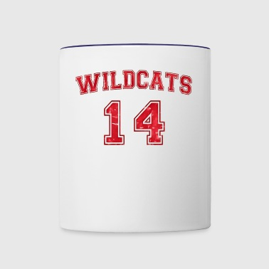 high school - Contrast Coffee Mug