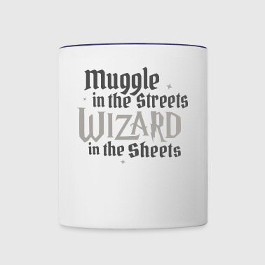 Muggle In The Streets Wizard In The Sheets - Contrast Coffee Mug