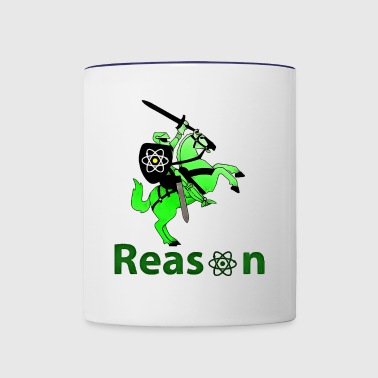 reason - Contrast Coffee Mug