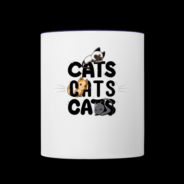 Cats Cats Cats - Contrast Coffee Mug