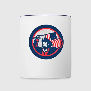 Patriots - Contrast Coffee Mug