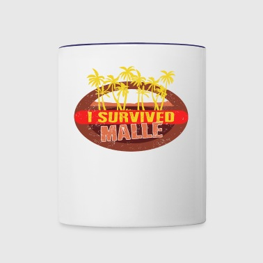 I Survived Malle - Malle Survivor T-shirt - Contrast Coffee Mug