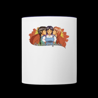 anime - Contrast Coffee Mug