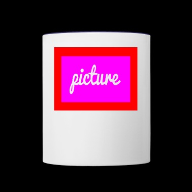 picture - Contrast Coffee Mug