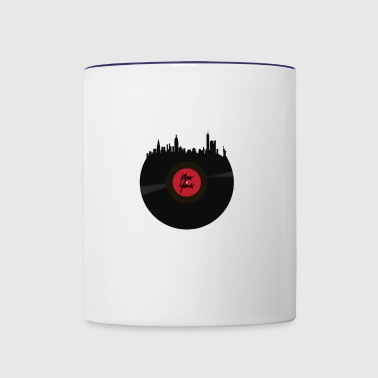 New York Vintage gift for New Yorkers - Contrast Coffee Mug