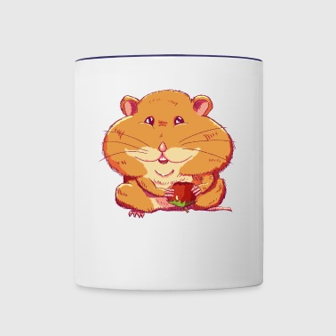 Cheeky Hamster - Contrast Coffee Mug