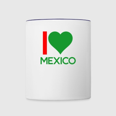 MEXICO - Contrast Coffee Mug