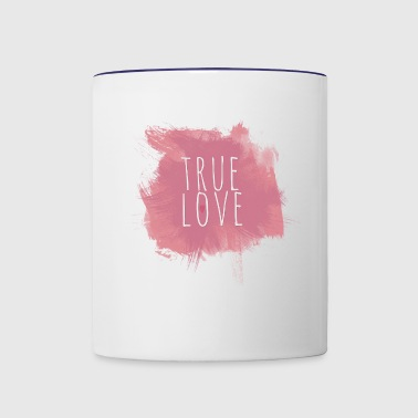 True Love - Contrast Coffee Mug