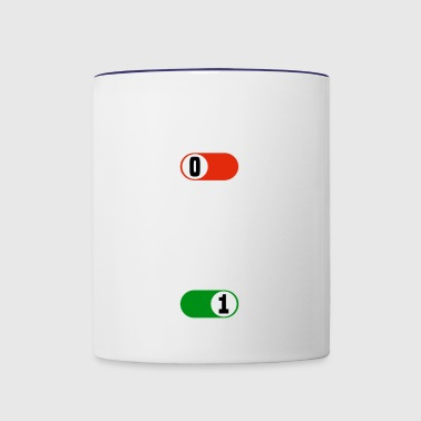 Working OFF golf sport ON gift - Contrast Coffee Mug