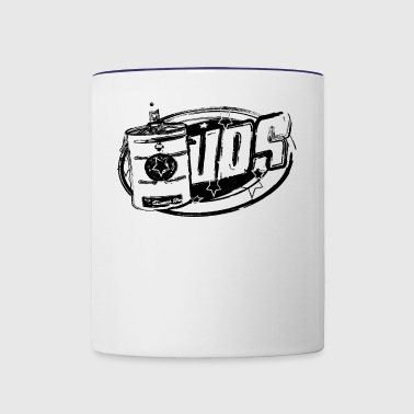 Ugly drum smoker the best BBQ Gift - Contrast Coffee Mug