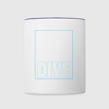 Diving gift idea for divers - Contrast Coffee Mug