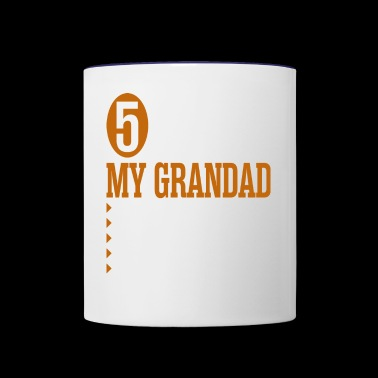5 Things About My Grandad - Contrast Coffee Mug