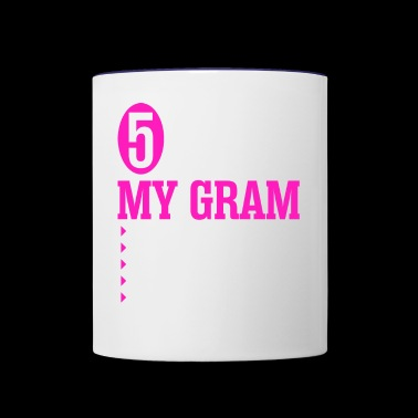 5 Things About My Gram - Contrast Coffee Mug