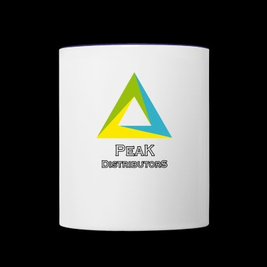 Peak Distributors - Contrast Coffee Mug