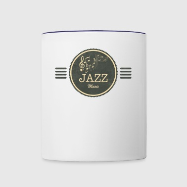 Jazz Music - Contrast Coffee Mug