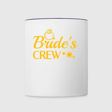 Bride's Crew - Contrast Coffee Mug