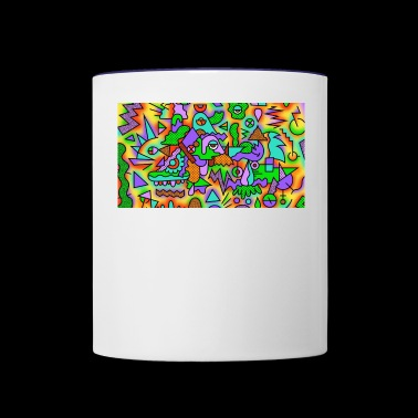 objects - Contrast Coffee Mug