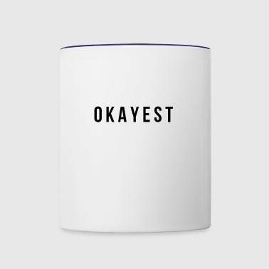 World's okayest Yogi - Contrast Coffee Mug