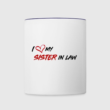 Sister in Law Gift - Contrast Coffee Mug