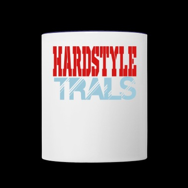 hardstyle trails - Contrast Coffee Mug