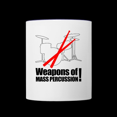 Weapons of mass Percussion - Contrast Coffee Mug