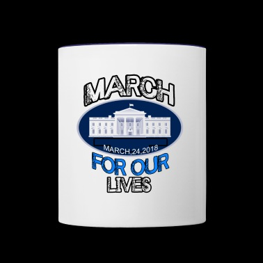 MARCH FOR OUR LIVE - Contrast Coffee Mug