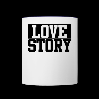 Love story - Contrast Coffee Mug