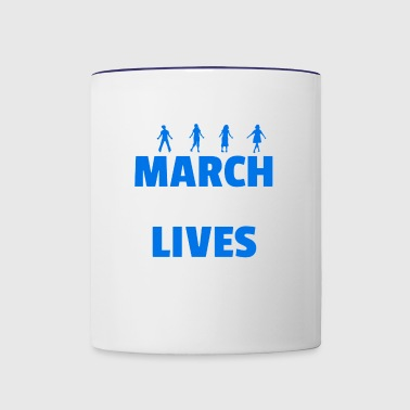 March for our Lives - Contrast Coffee Mug