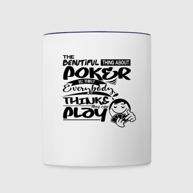 Poker strategists - Contrast Coffee Mug