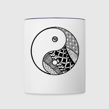 Yin and yang - Contrast Coffee Mug
