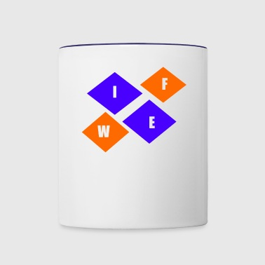 WIFE - Contrast Coffee Mug