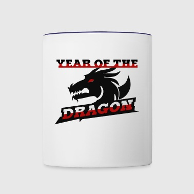 Year of the Dragon Chinese zodiac sign - Contrast Coffee Mug
