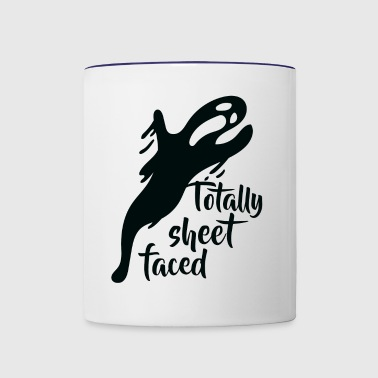 Totally sheet faced - Contrast Coffee Mug