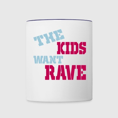 rave - Contrast Coffee Mug