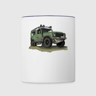 Defender - Ninety 90 - Contrast Coffee Mug