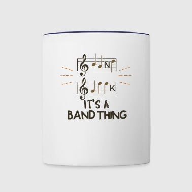 Band Geek - It's A Band Thing - Contrast Coffee Mug