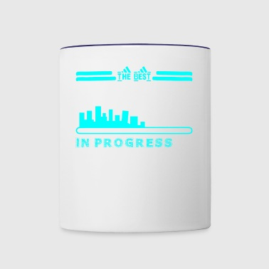 The Best Receptionist In Progress - Contrast Coffee Mug