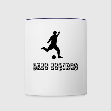 Best Striker - Contrast Coffee Mug