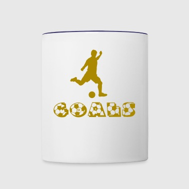 Soccer Goals - Contrast Coffee Mug