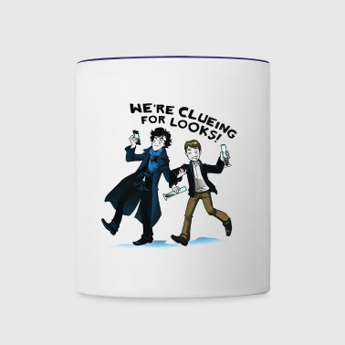 Clueing - Contrast Coffee Mug