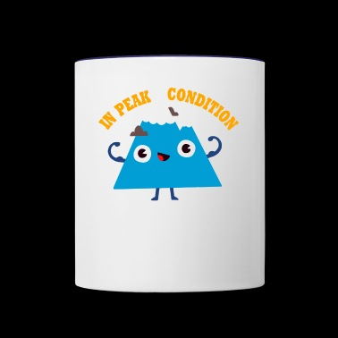 Peak Condition - Contrast Coffee Mug