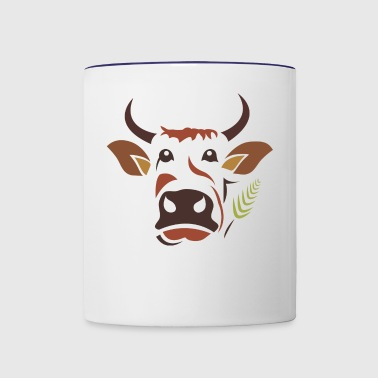 Cow Cow - Contrast Coffee Mug