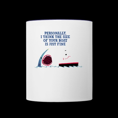 Polite Jaws - Contrast Coffee Mug
