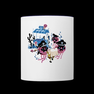 Under Water Criminal - Contrast Coffee Mug