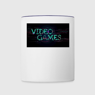 Video games - Contrast Coffee Mug