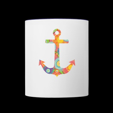 anchor - Contrast Coffee Mug