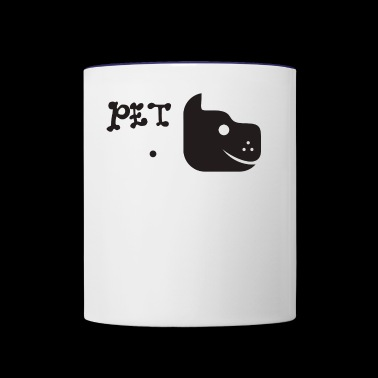 Pet Dog - Contrast Coffee Mug